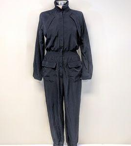 Dresses - Zip Front Tailored Jumpsuit